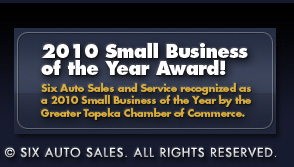 Six Auto awarded Small Business of the Year